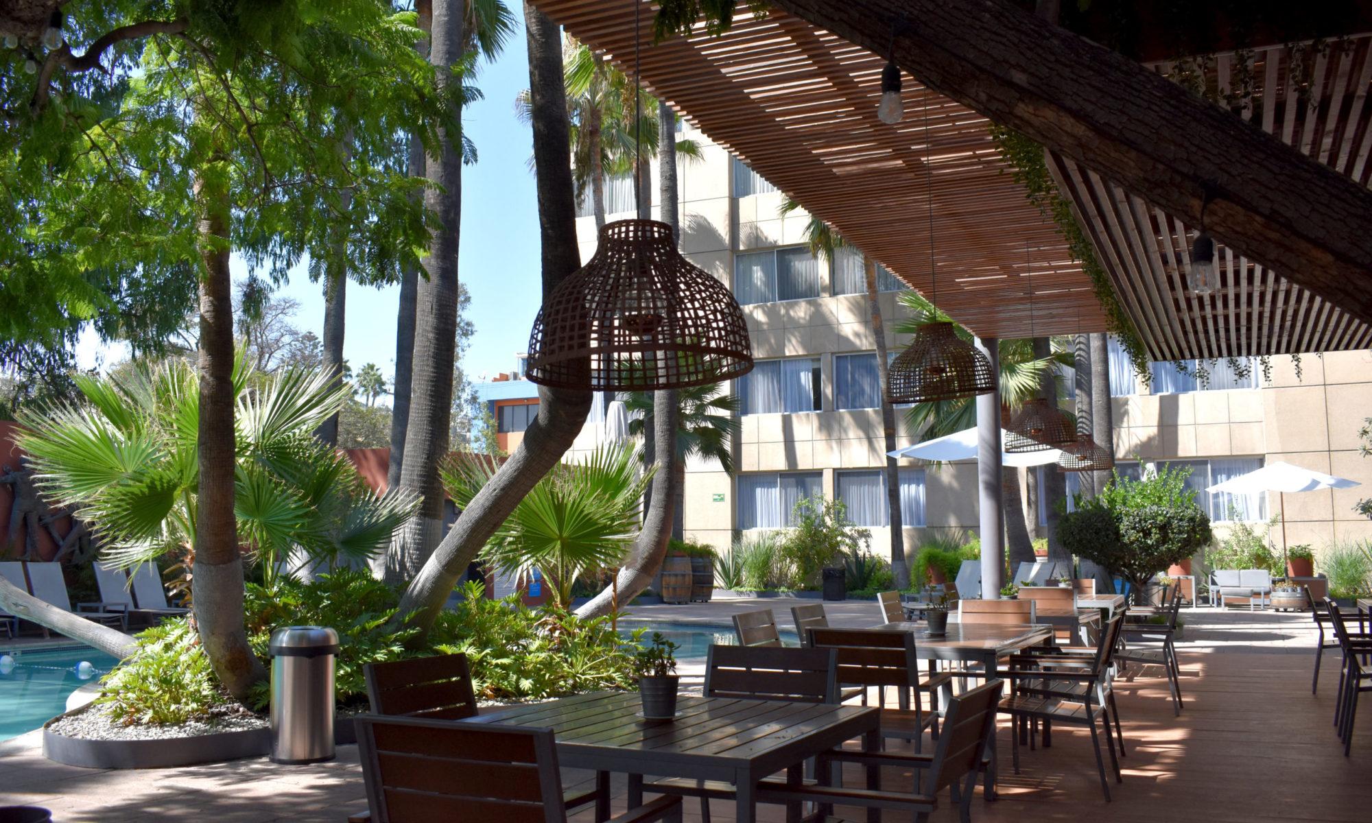 Donde principia la Hospitalidad Mexicana.